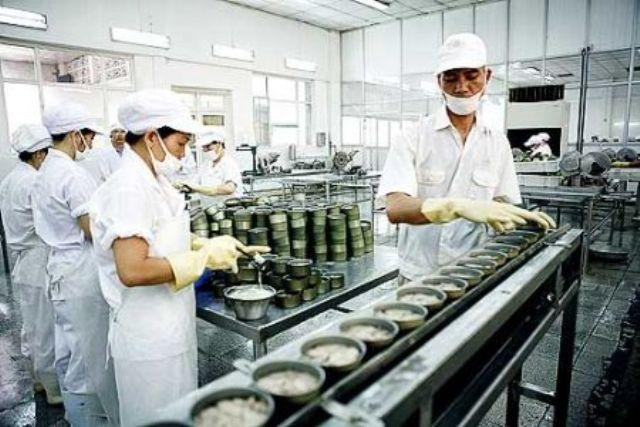 xklđ chế biến thực phẩm công nghiệp