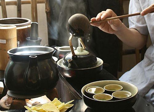 nghệ thuật uống trà Nhật Bản