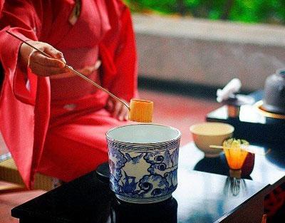 nghệ thuật pha trà Nhật Bản