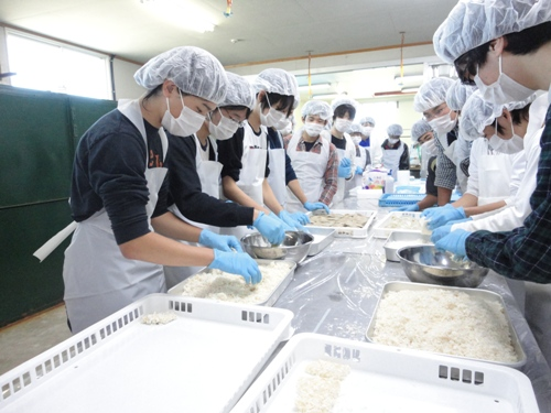 xuất khẩu lao động phân loại đồ lạnh Nhật Bản