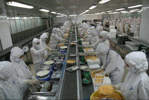 Tuyển 15 nữ chế biến thực phẩm tại Niigata Nhật Bản