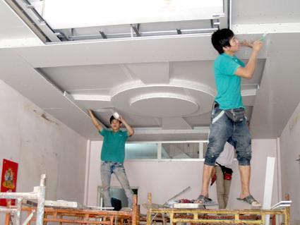 Tuyển gấp 10 nam làm trần thạch cao, nội thất tại Tokyo Nhật Bản