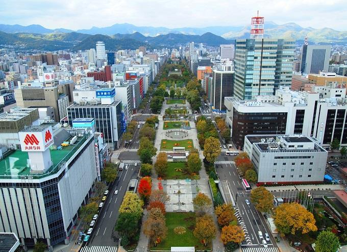 Thành phố du lịch Sapporo hiện đại