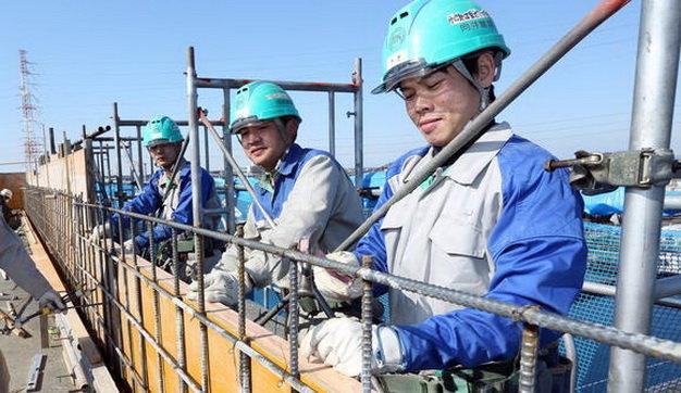 Top 10 đơn hàng lương cao ngành xây dựng đi XKLĐ Nhật Bản năm 2018