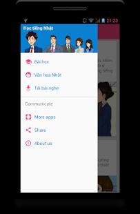 Ứng dụng học tiếng Nhật Learning Japanese N5 trên smartphone