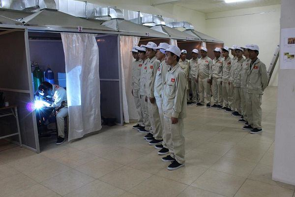 Cần tuyển gấp Nam làm Hàn thủ công khung sắt tại Nhật Bản đầu tháng 4/2017