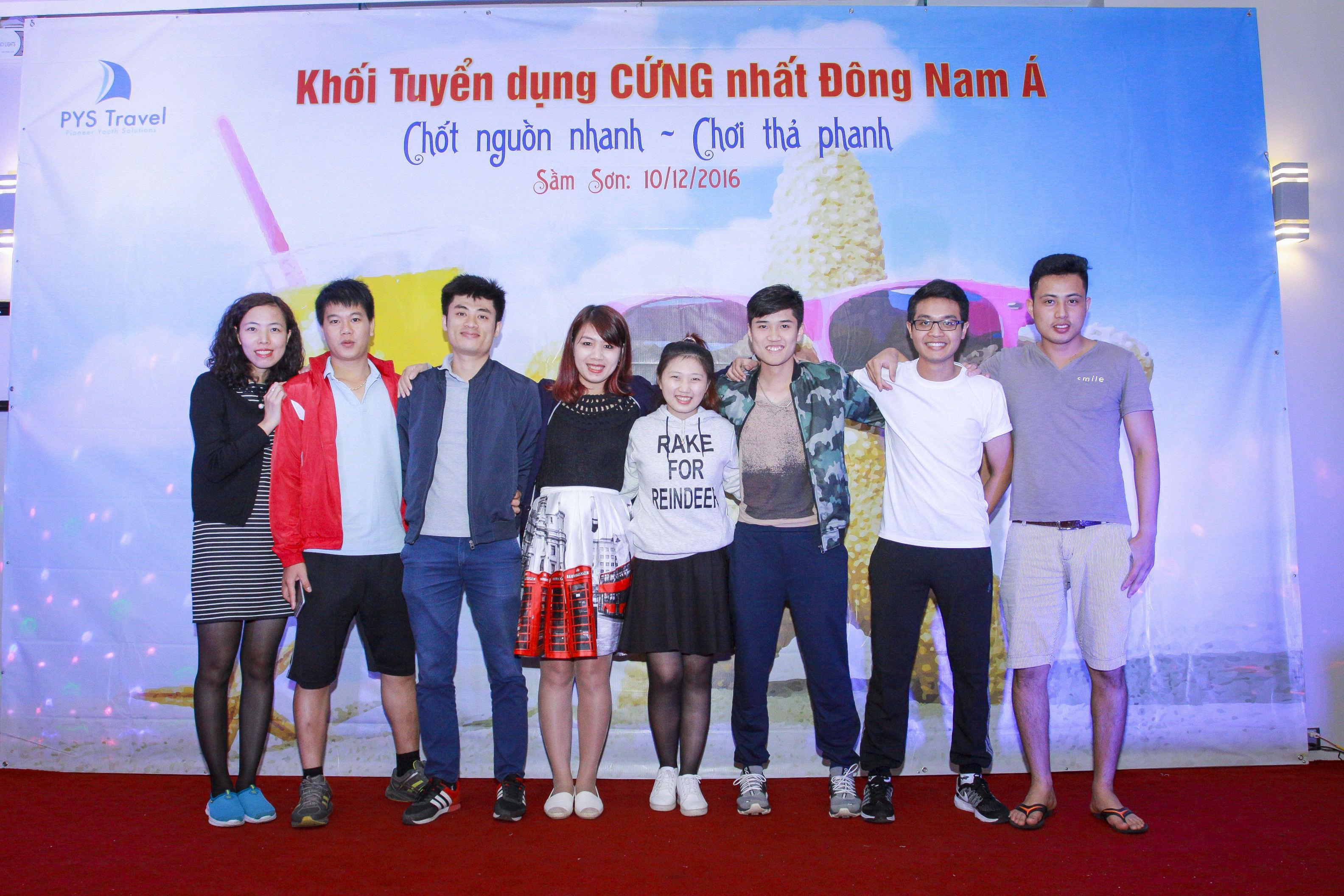 Thành phần cán bộ tư vấn tuyển dụng online tại công ty TTC Việt Nam