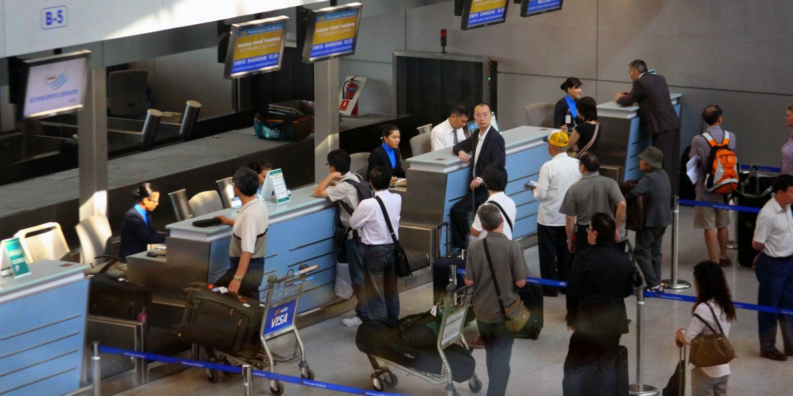 Quy trình làm thủ tục tại sân bay Việt - Nhật cần lưu ý những gì?
