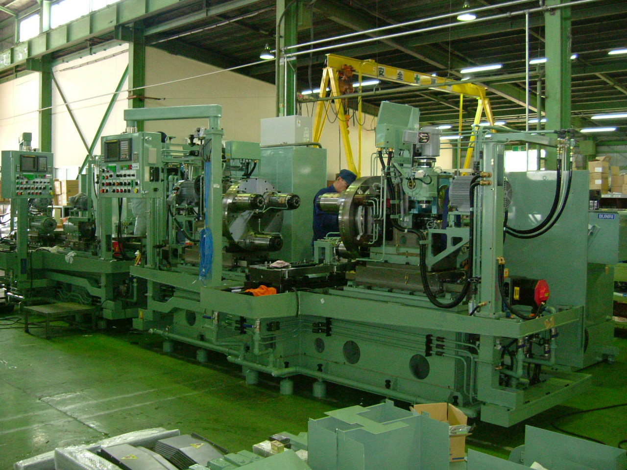 Cần tuyển 15 nam xuất khẩu lao động Nhật Bản điều khiển máy thi công