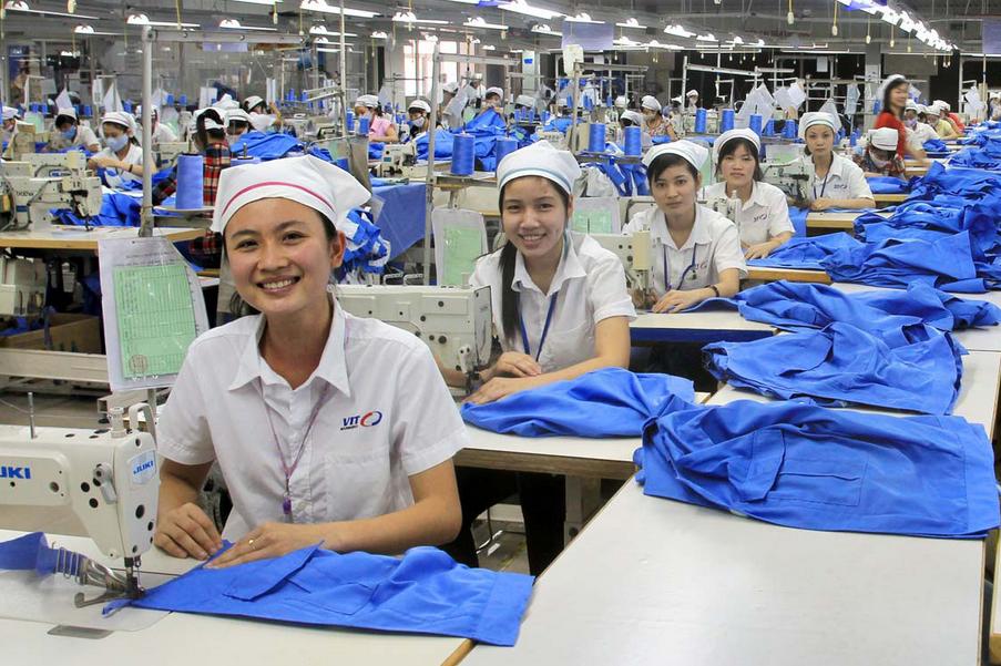Kết quả hình ảnh cho đơn hàng may đi xuất khẩu lao động