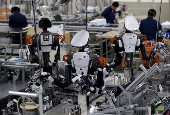 Công việc chế tạo máy tại tỉnh Chiba, Nhật Bản