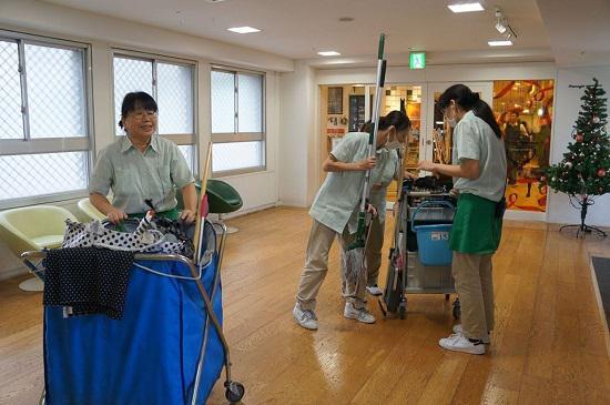 Tuyển 30 Nữ XKLĐ Nhật Bản dọn dẹp vệ sinh tòa nhà tháng 11/2017
