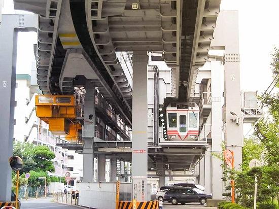 Chiêm ngưỡng hệ thống đường xe điện trên không tại tỉnh Chiba - Nhật Bản