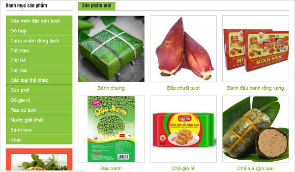 mua đồ Việt Nam tại Nhật qua hệ thống website