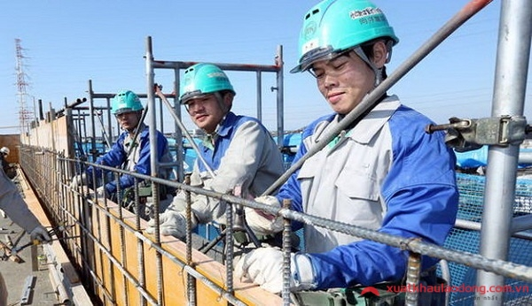 Ngành xây dựng - Ngành nghề thu nhập tốt nhất khi đi xklđ Nhật Bản