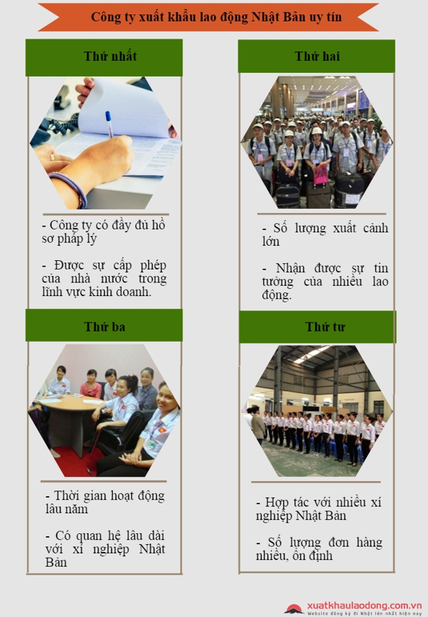 công ty xuất khẩu lao động nhật bản uy tín