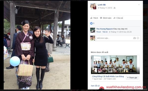 người lao động đơn hàng may áo sơ mi tại Nhật chia sẻ