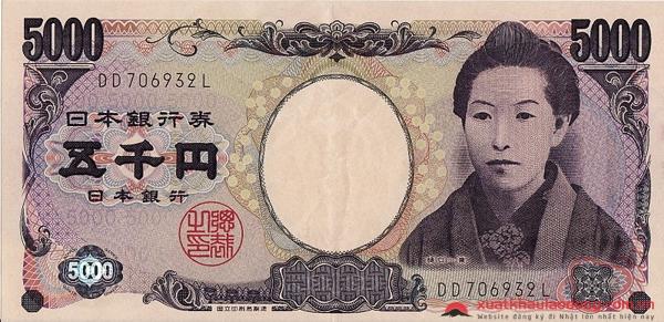 cap nhat ty gia yen hom nay - 1 man bang bao nhieu tien viet - dong 5000 yen