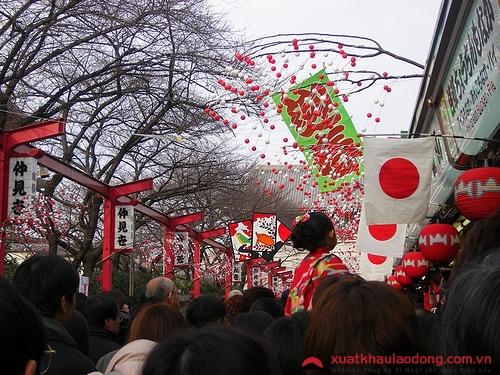 cac ngay nghi le cua nhat-Ngày tết Nhật Bản