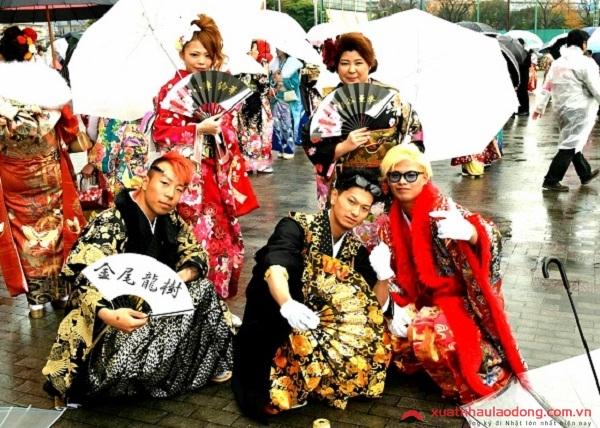 cac ngay nghi le cua nhat-Ngày lễ thành niên Nhật Bản