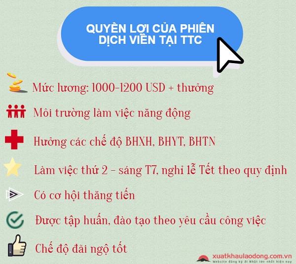 Quyền lợi của phiên dịch viên tiếng Nhật tại Hà Nội