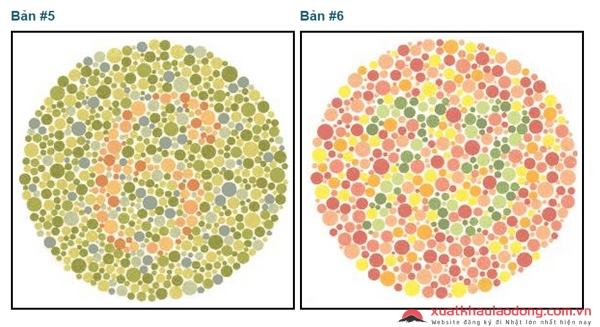Kiểm tra mù màu hay không