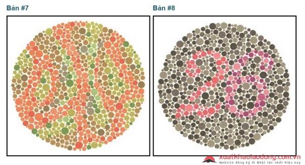 Bảng kiểm tra mù màu