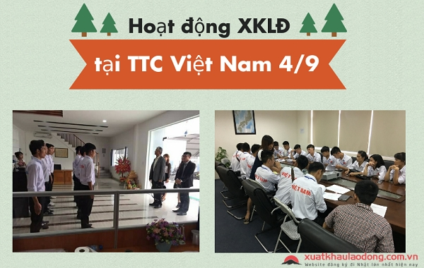 Các hoạt động diễn ra tại TTC Việt Nam ngày 4/9
