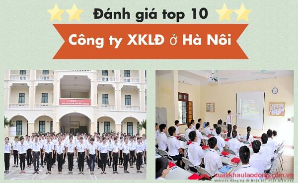 Đánh giá Top 10 công ty XKLĐ Nhật Bản tại Hà Nội