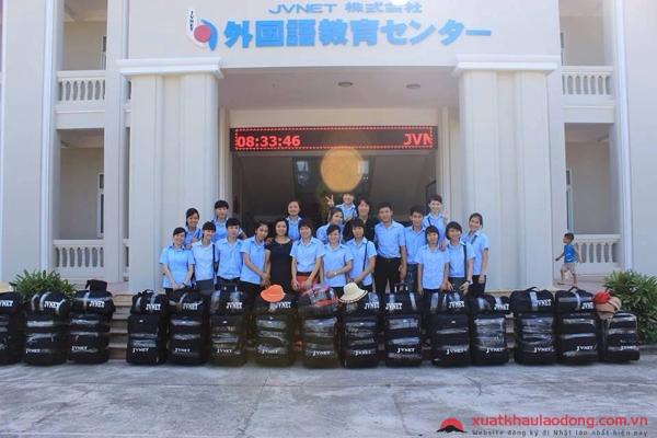 Lao động đã xuất cảnh tại công ty JVNet - công ty XKLĐ Nhật Bản tại Hà Nội