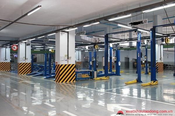 Xí nghiệp tiếp nhận TTS đơn hàng sửa chữa ô tô