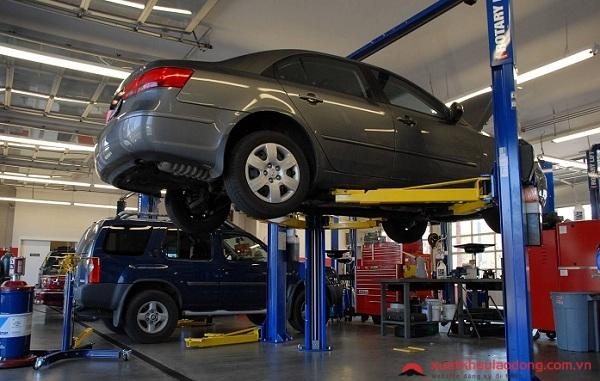sửa chữa ô tô tại nhật