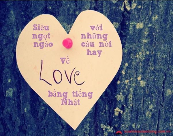 những câu nói về tình yêu bằng tiếng nhật