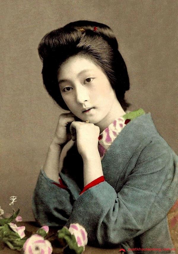 vẻ đẹp của người phụ nữ nhật bản ngày xưa