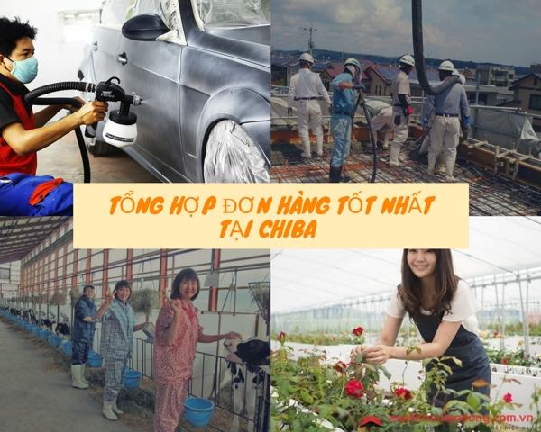 Tổng hợp các đơn hàng có mức thu nhập tốt nhất tại Chiba, Nhật Bản