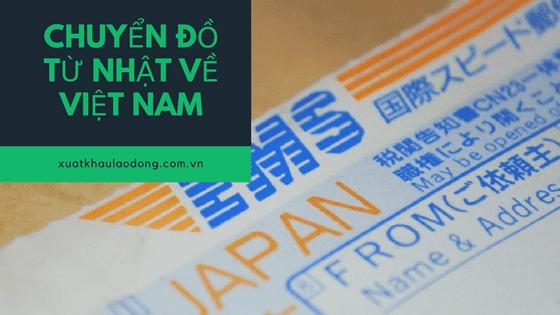 Hướng dẫn gửi đồ từ Nhật về Việt Nam đơn giản và nhanh nhất