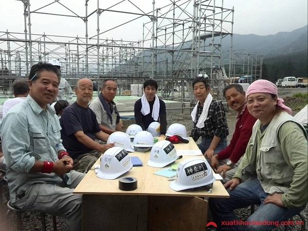 đơn hàng mộc xây dựng tại aichi