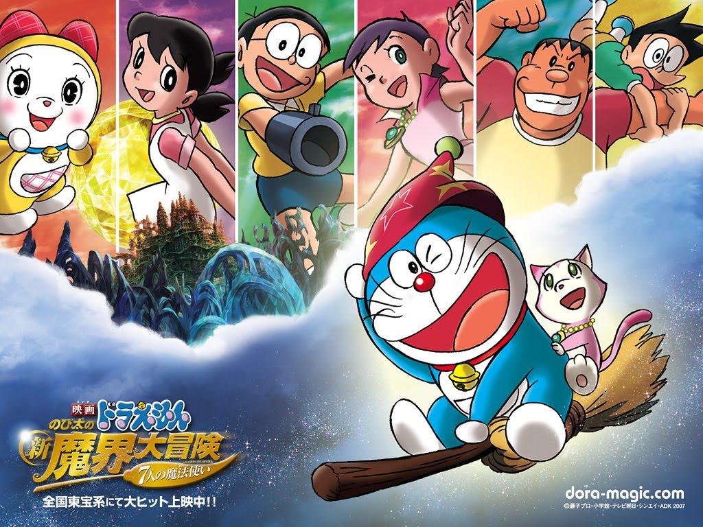 Bộ truyện tranh manga Doremon thu hút các khán giả trẻ