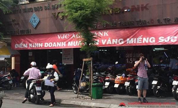 địa chỉ đổi yên nhật ở Sài Gòn