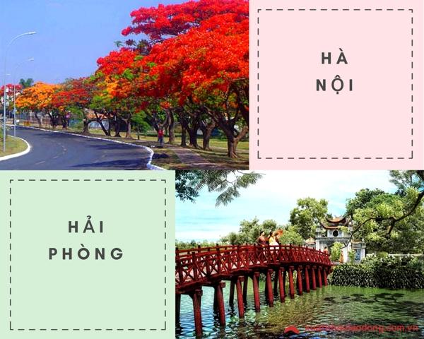 Hải Phòng cách Hà Nội bao nhiêu km