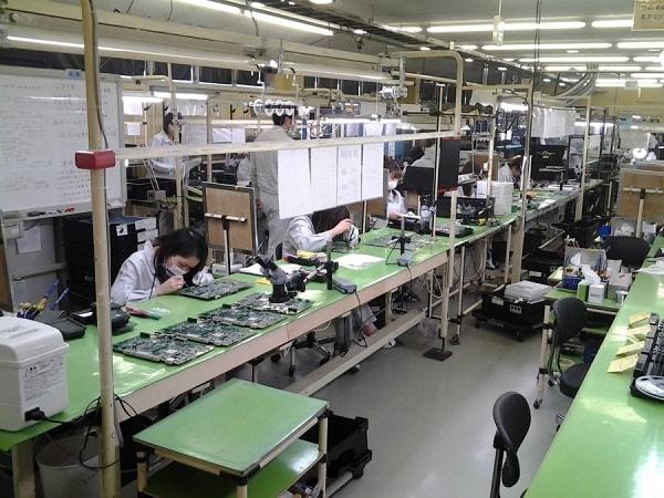 Xí nghiệp tiếp nhận TTS đơn hàng điện tử