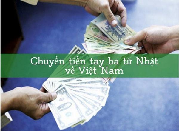 Chuyển tiền tay ba từ Nhật về Việt Nam