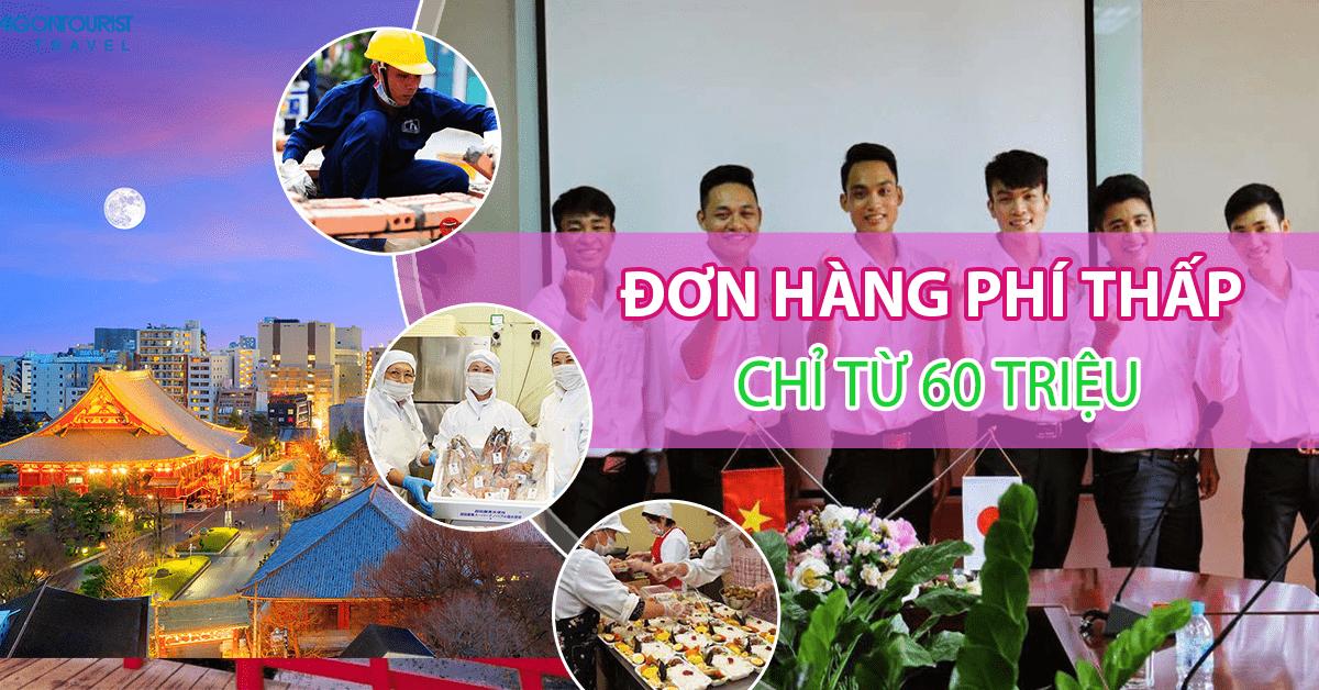 Top 10 đơn hàng đi Nhật PHÍ THẤP chỉ từ 60 triệu tại TTC Việt Nam năm 2018