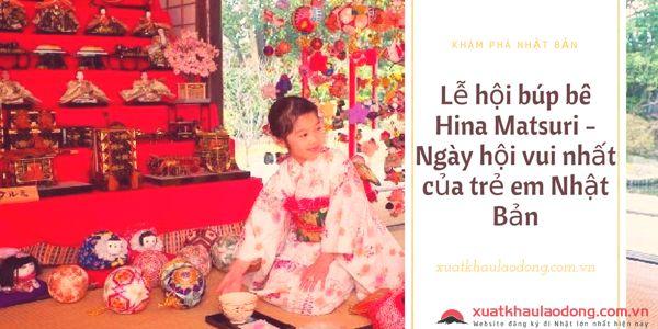 Lễ hội búp bê Hina Matsuri