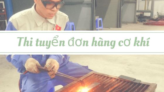 Thi tuyển đơn hàng cơ khí tại TTC Việt Nam như thế nào?