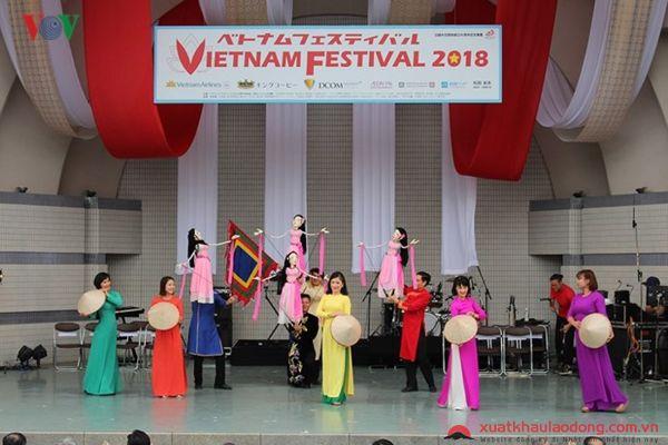Những hình ảnh đặc sắc với lễ hội Việt Nam tại Nhật Bản năm 2018