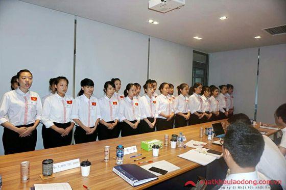 Phỏng vấn đơn hàng chế biến thực phẩm tại Tokyo, Nhật Bản