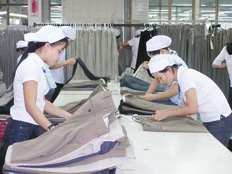 xuất khẩu lao động may mặc nhật bản