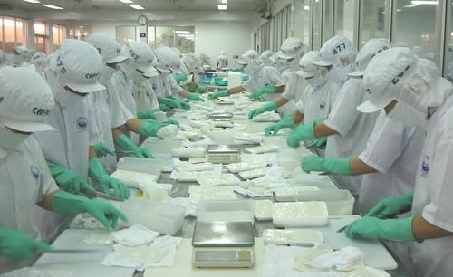 Tuyển 35 nữ đóng gói chế biến thực phẩm đông lạnh tại Gunma tháng 7/2016