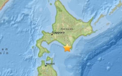 Chiều qua động đất mạnh 5,3 độ richter tại tỉnh Hokkaido Nhật Bản